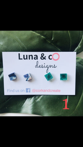 Luna & co designs - Mum friendly Stud Earrings