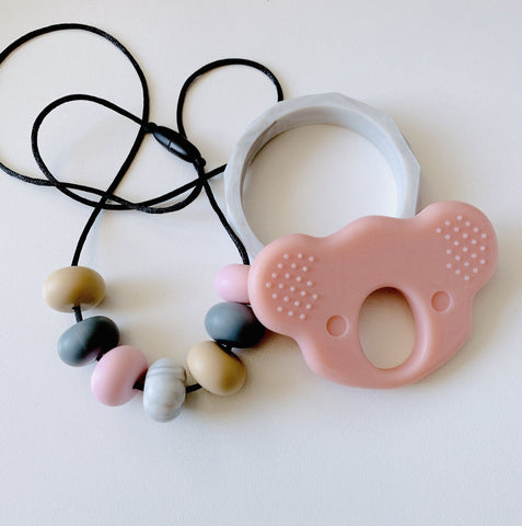 Bubba Chew -  Pink Skies Silicone Necklace Set