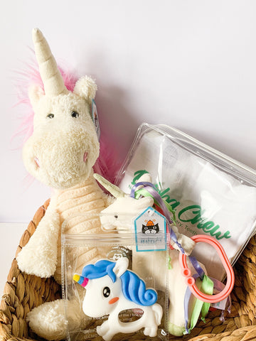 Unicorn Baby Shower Gift Pack