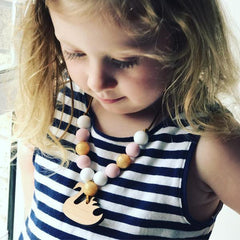 Necklace - Charmed For Kids - Swan Necklace
