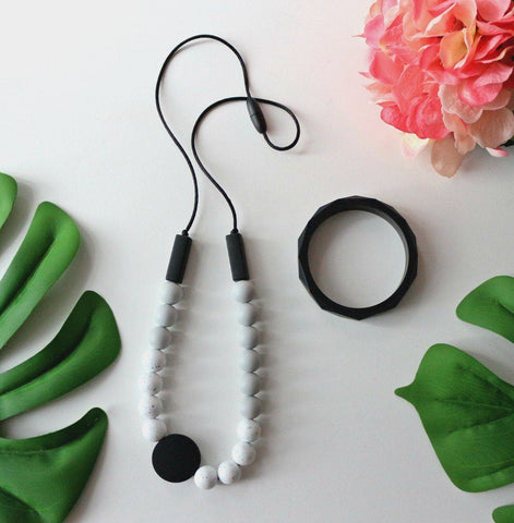 Bubba Chew - Monochromatic Silicone Necklace
