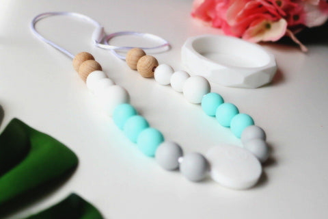 Necklace - New Bubba Chew Silicone Necklace - Shore Break