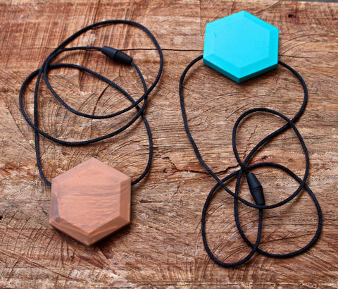 BEST SELLER! Bubba Chew - Hex Pendant Silicone Necklace