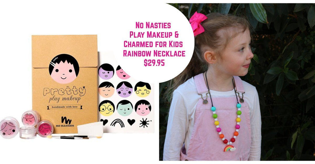 Charmed for Kids - Makeup and necklace set