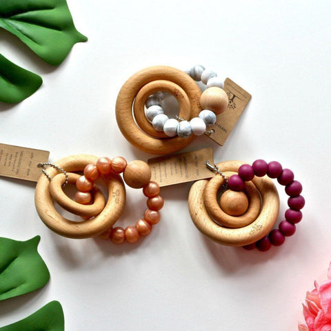 Rattle Toy - Nature Bubz - Zulu Rattle Teethers