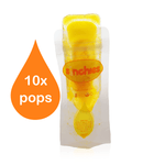 Reusable Pouches - Sinchies Pops (aka Ice-block Or Icy Pole Pouches) Pack Of 10