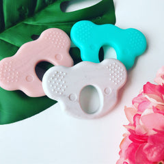 Teether - New Bubba Chew Silicone Koala Teether Toy