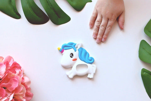 Teether - New Bubba Chew - Unicorn Teethers