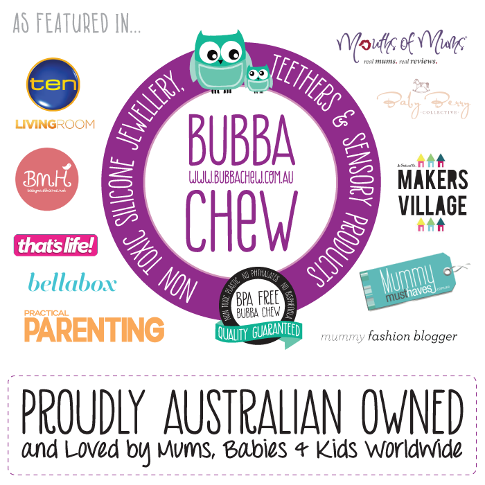 Bubba Chew Silicone Jewellery & Teething Products