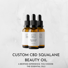 Load image into Gallery viewer, Custom Squalane CBD Beauty Oil