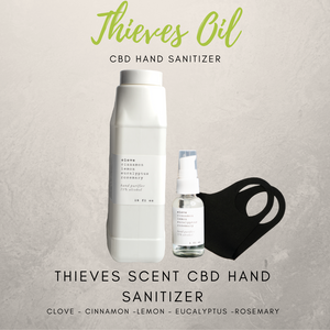 Thieves Oil  CBD Hand Sanitizer - 75% Alcohol