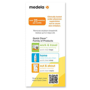 Medela Quick Clean Breast milk Removal Soap