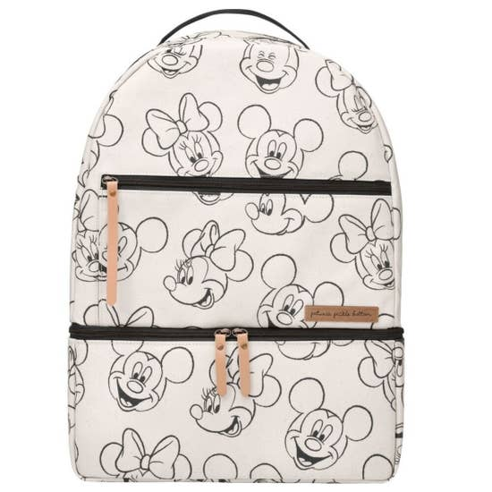 Petunia Pickle Bottom Axis Backpack - Sketchbook Mickey & Minnie