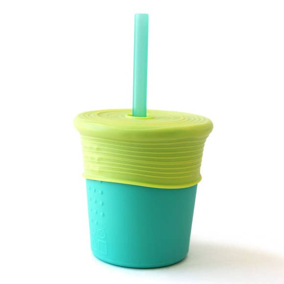 GoSili 8oz Single Cup w/ Straw