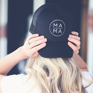 to: little arrows MAMA Trucker Hat