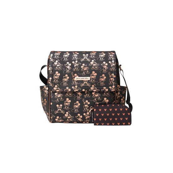 Petunia Pickle Bottom Boxy Backpack - Metallic Mickey Mouse