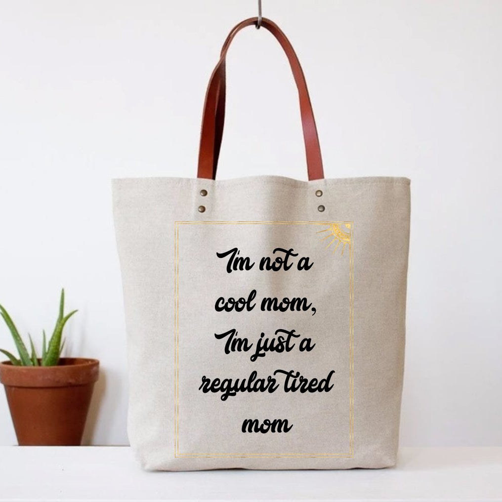 Fun Club - Tired Mom Tote