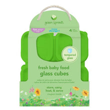 Load image into Gallery viewer, Green Sprouts Fresh Baby Food 2oz Glass Cube Set