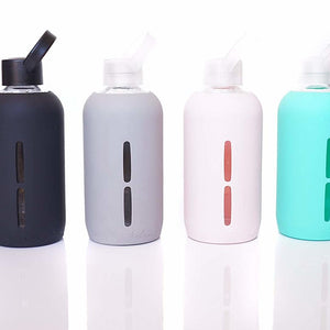 Idrato Glass Water Bottles