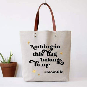 Fun Club - Hashtag Mom Life Tote
