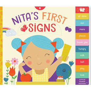 """Nita's First Signs"""