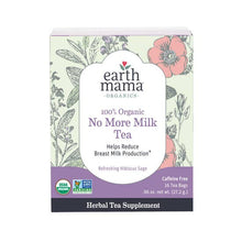 Load image into Gallery viewer, Earth Mama Organic No More Milk Tea