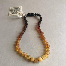 Load image into Gallery viewer, CanyonLeaf Raw Ombre Amber Necklace