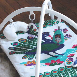 O.B. Designs - Peacock Paradise Play Mat