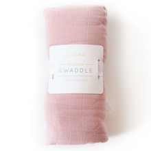 Load image into Gallery viewer, Dolly Lana Muslin Swaddle - Petal