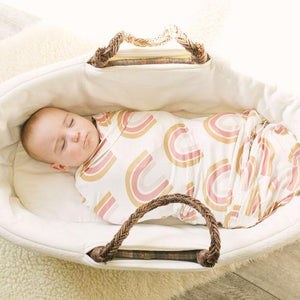 Dolly Lana Knit Swaddle - Rainbow