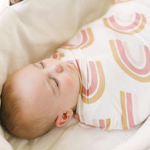 Load image into Gallery viewer, Dolly Lana Knit Swaddle - Rainbow