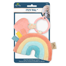 Load image into Gallery viewer, Rainbow Itzy Pal™ Plush + Teether