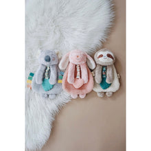 Load image into Gallery viewer, Itzy Lovey™ Sloth Plush with Silicone Teether Toy