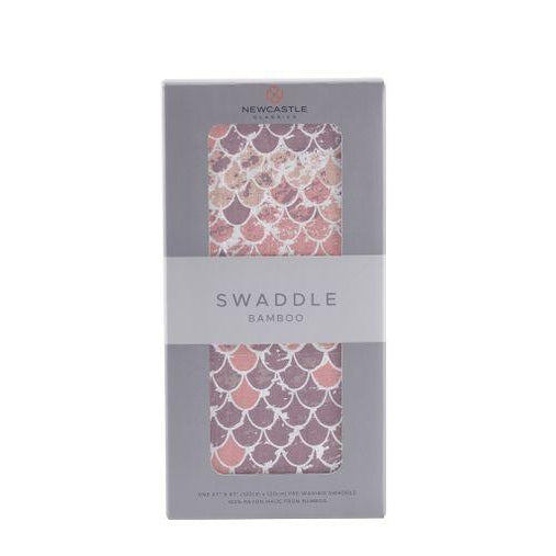 Newcastle Scales (Mermaid) Swaddle