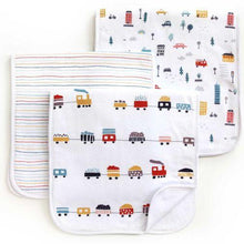 Load image into Gallery viewer, Dolly Lana Burp Cloth Set - Urban Boy