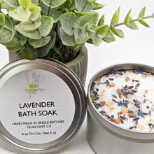 Load image into Gallery viewer, Wild Blooms & Bliss - Lavender Bath Soak