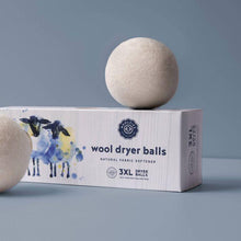 Load image into Gallery viewer, Wool Dryer Ball Set (Set of 3)