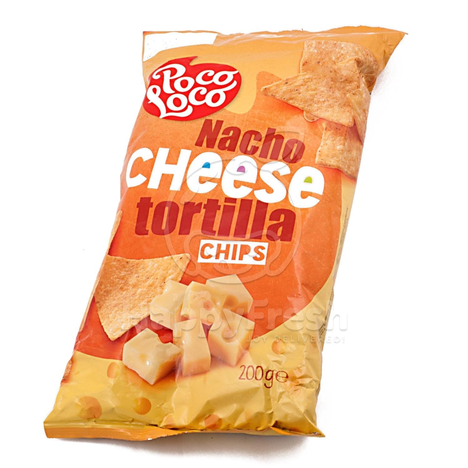 aga>Chips Tortilla Poco Loco nachos cheese 200g