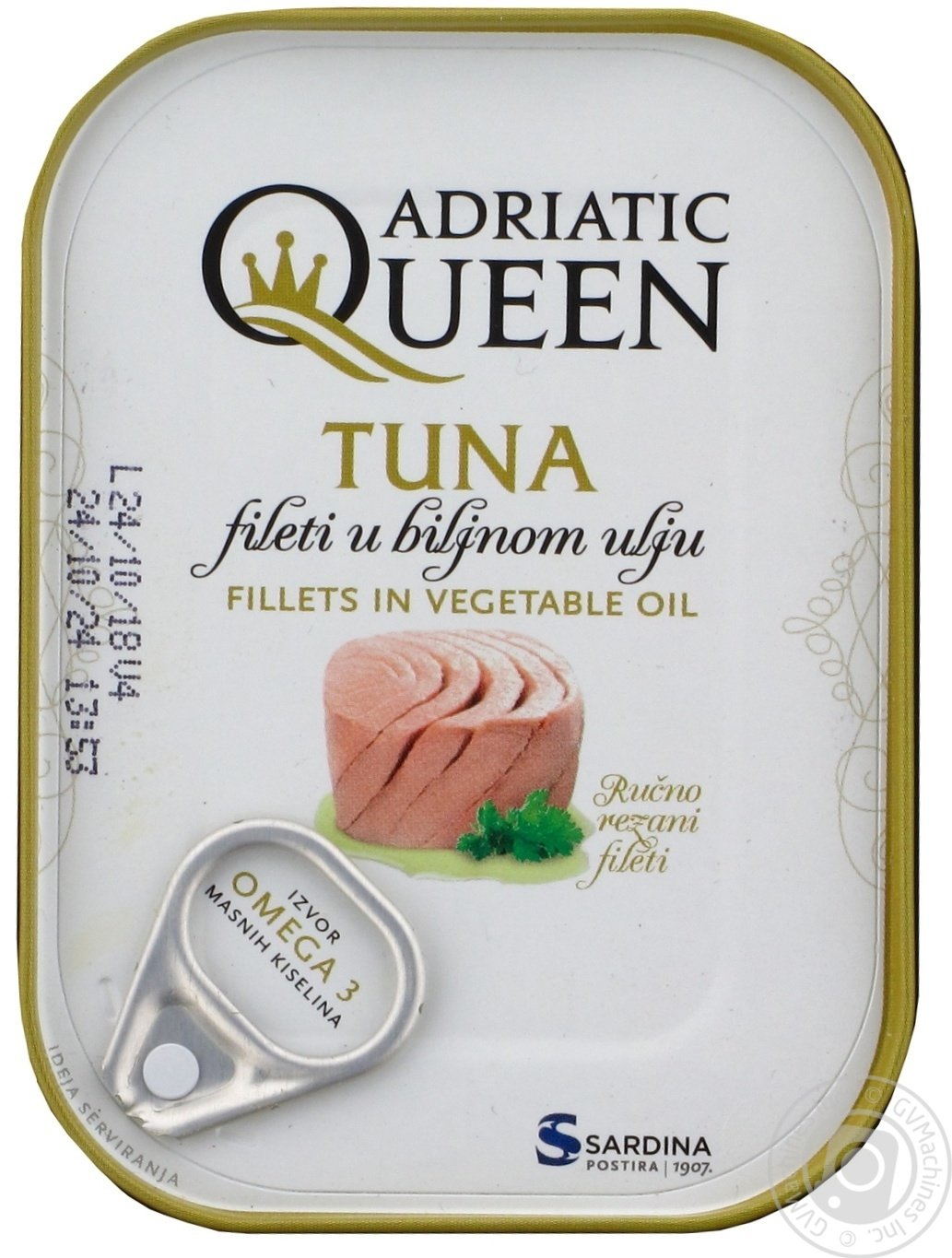 aga>Adriatic Queen Tuna in Oil 105g