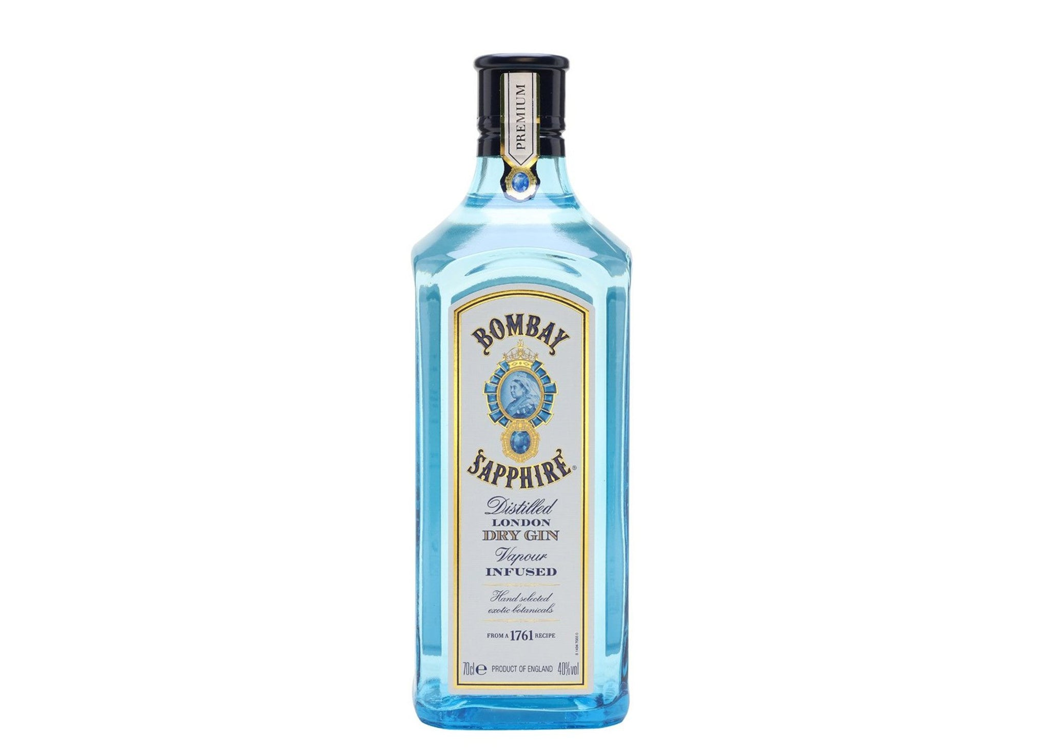 bah>Bombay Sapphire Gin, litre