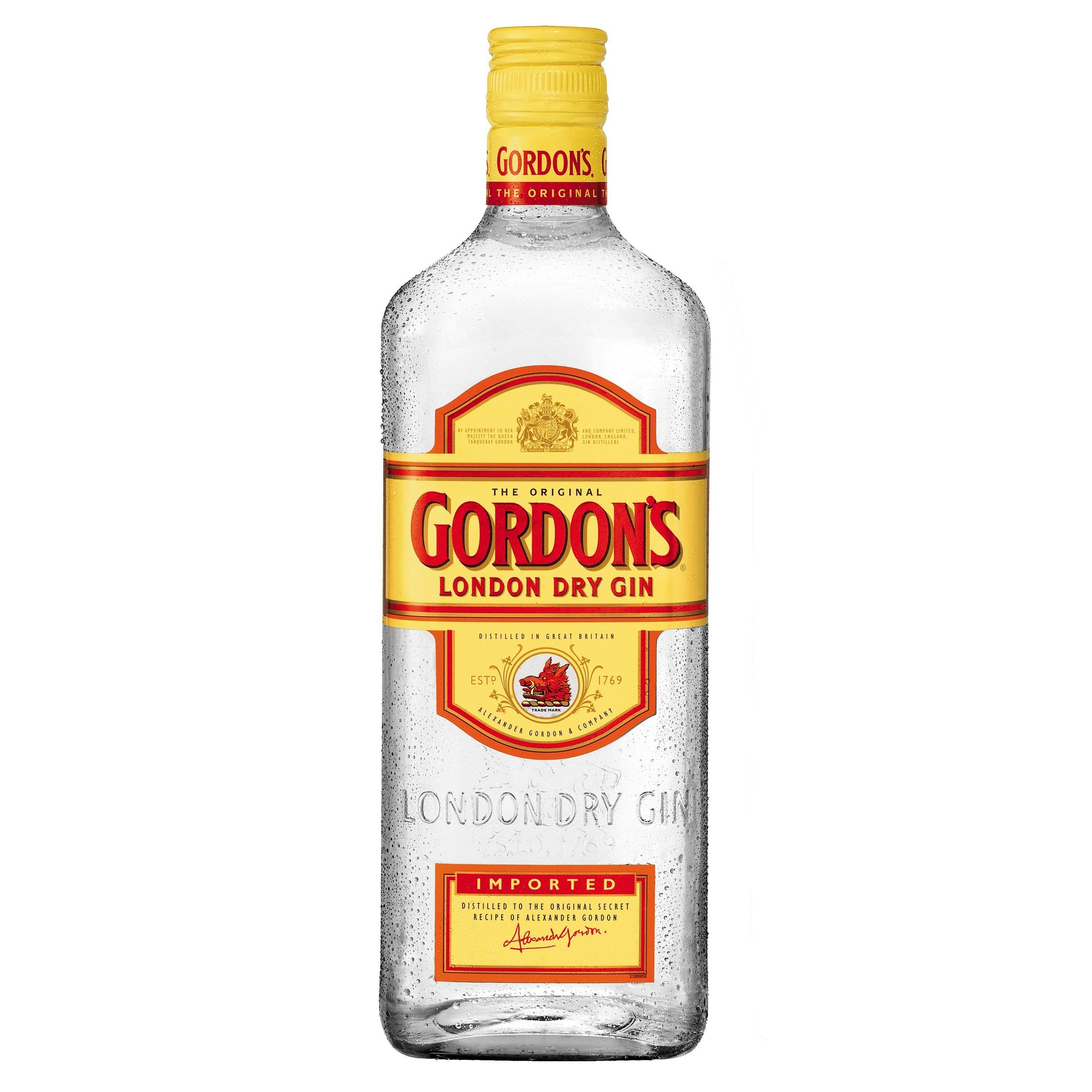 bah>Gordon's London Dry Gin, litre