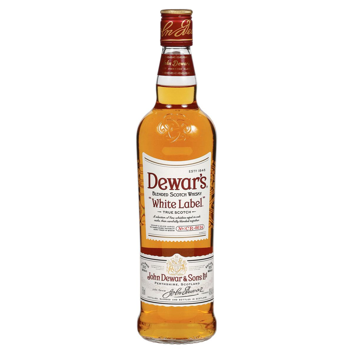 bah>Dewar's White Label Whisky,750ml