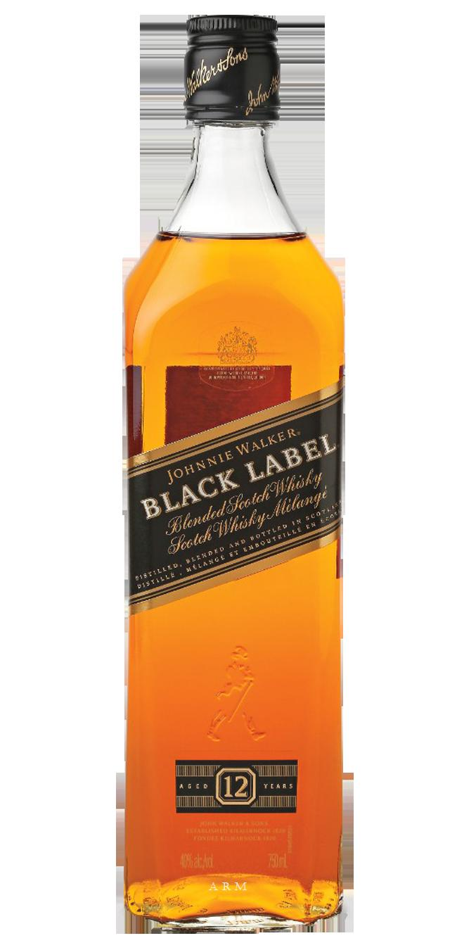 bah>Johnnie Walker Black Label Whisky, 750ml