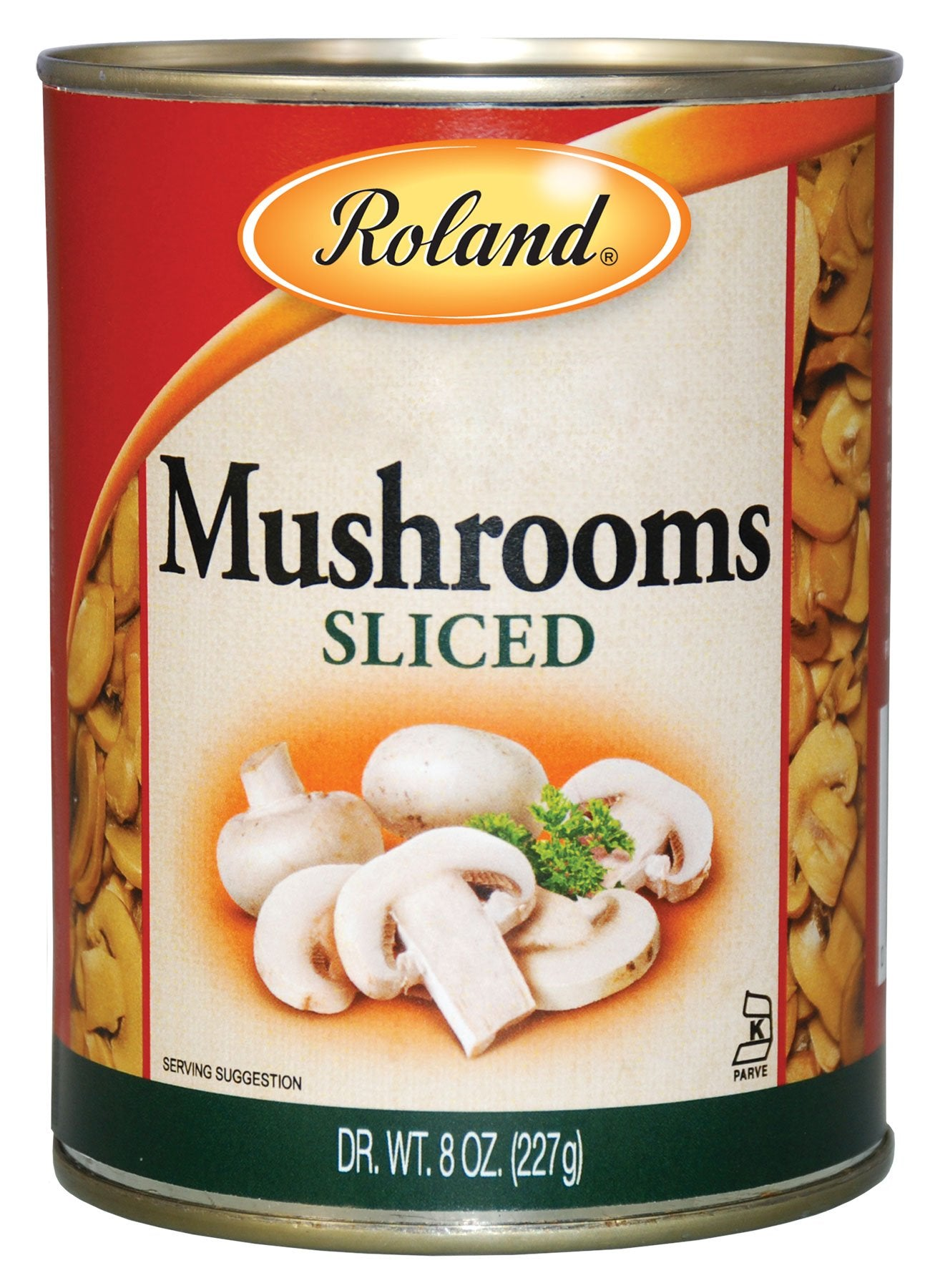 stm>Roland Mushrooms, Canned 227gr, 8oz