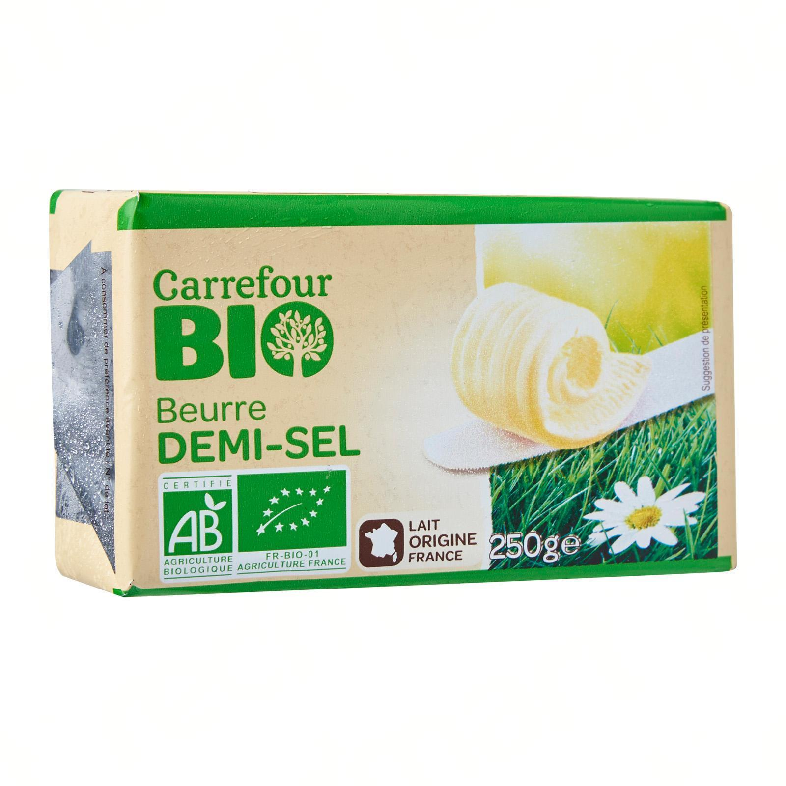 stm>Butter, Salted, Carrefour 7oz, 250g
