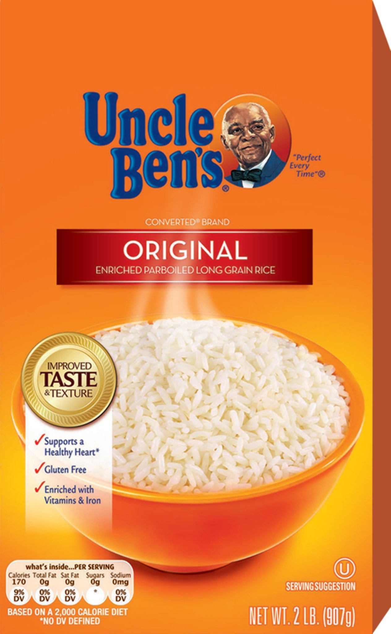 stm>Uncle Ben's White Rice 907gr, 2 lbs