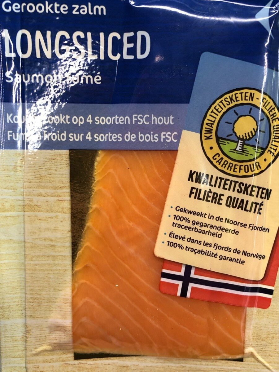 stm>Smoked Salmon, Carrefour 4 Slices