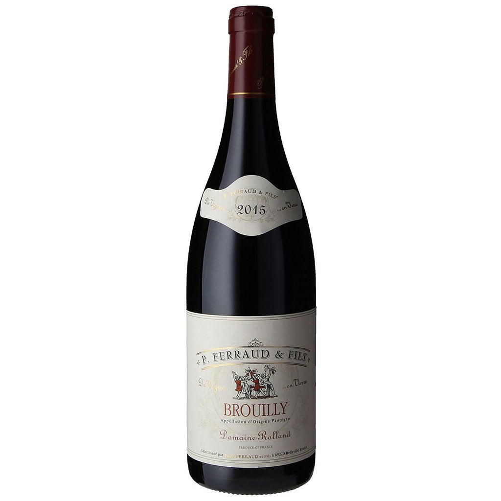 stm>Red Brouilly P. Ferrand & Fils