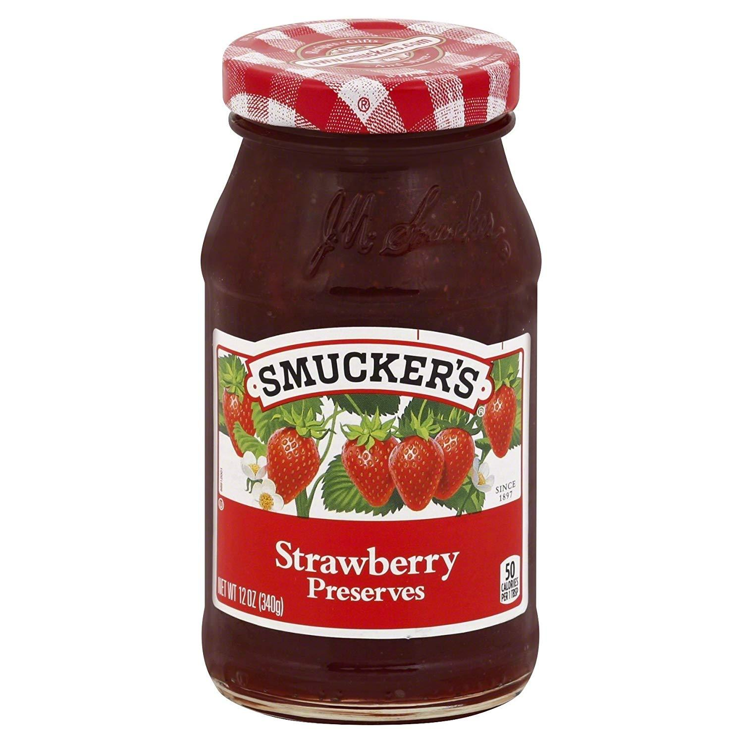 stl>Smucker's Strawberry Preserve - 12oz