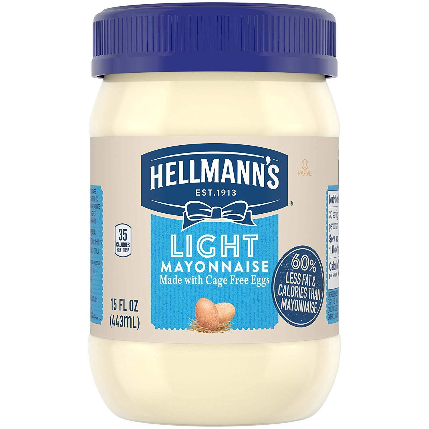 stl>Hellman's Light Mayonnaise -15oz
